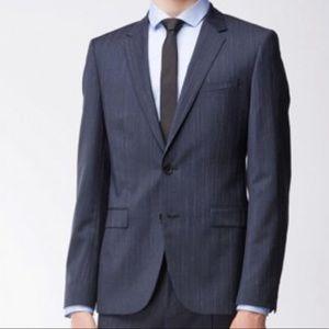 HUGO Virgin Wool Extra Slim Fit Astian/Hets Jacket